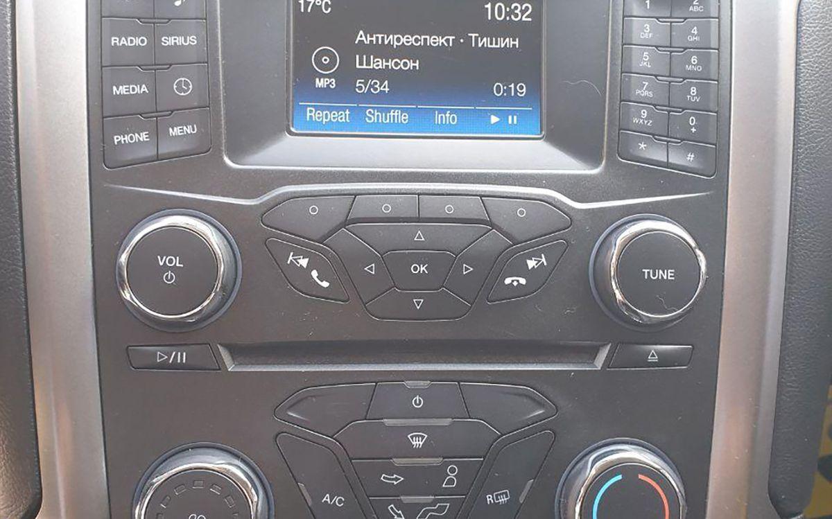 Ford Fusion 2017 фото №15