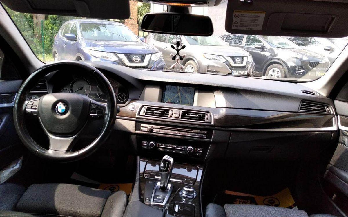 BMW 525 2012 фото №18