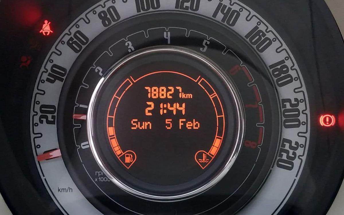 Fiat 500 2012 фото №14