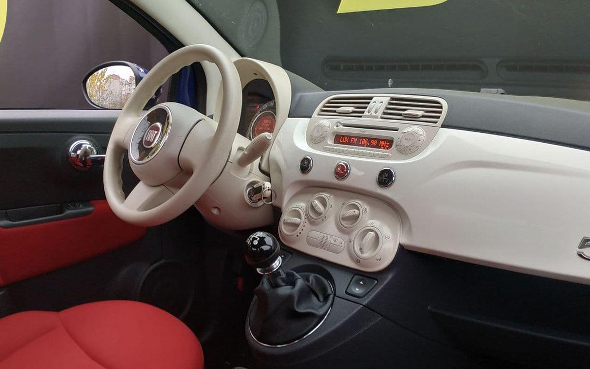 Fiat 500 2012 фото №15