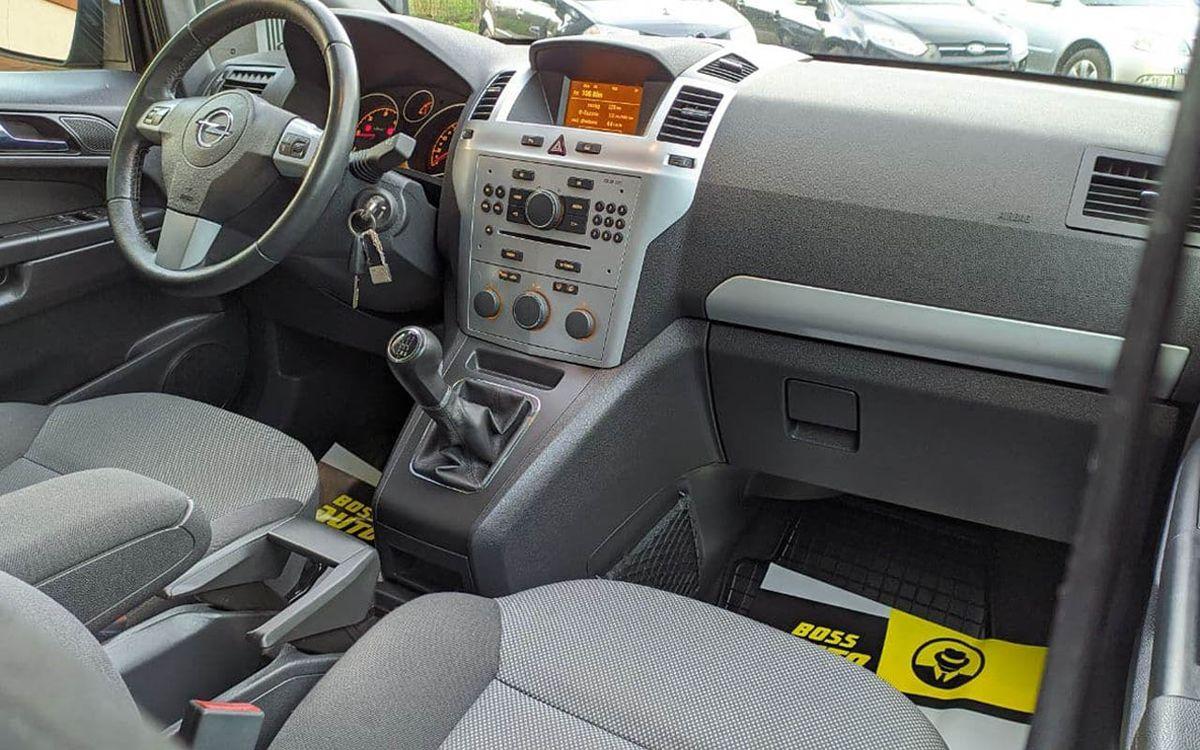 Opel Zafira 2012 фото №16