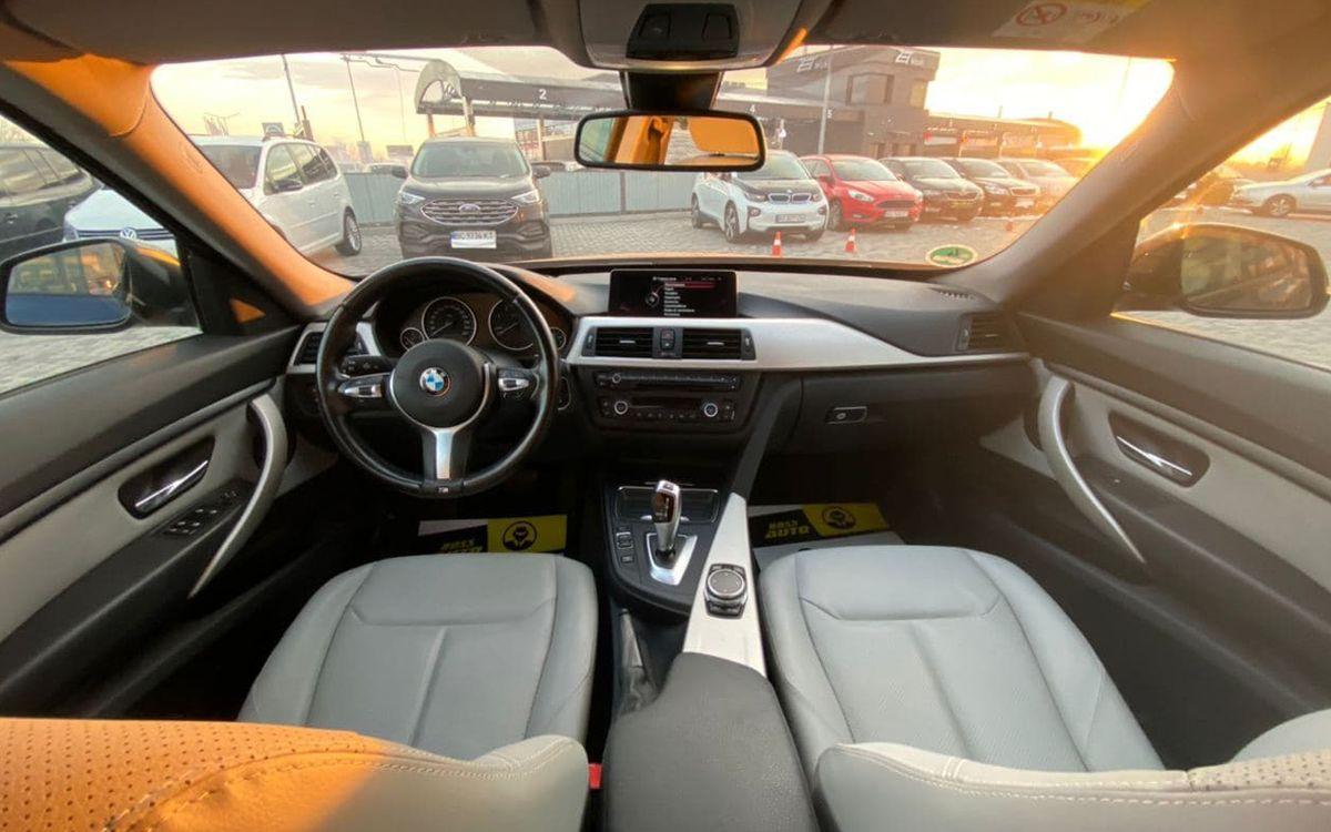 BMW 320 GT 2015 фото №11
