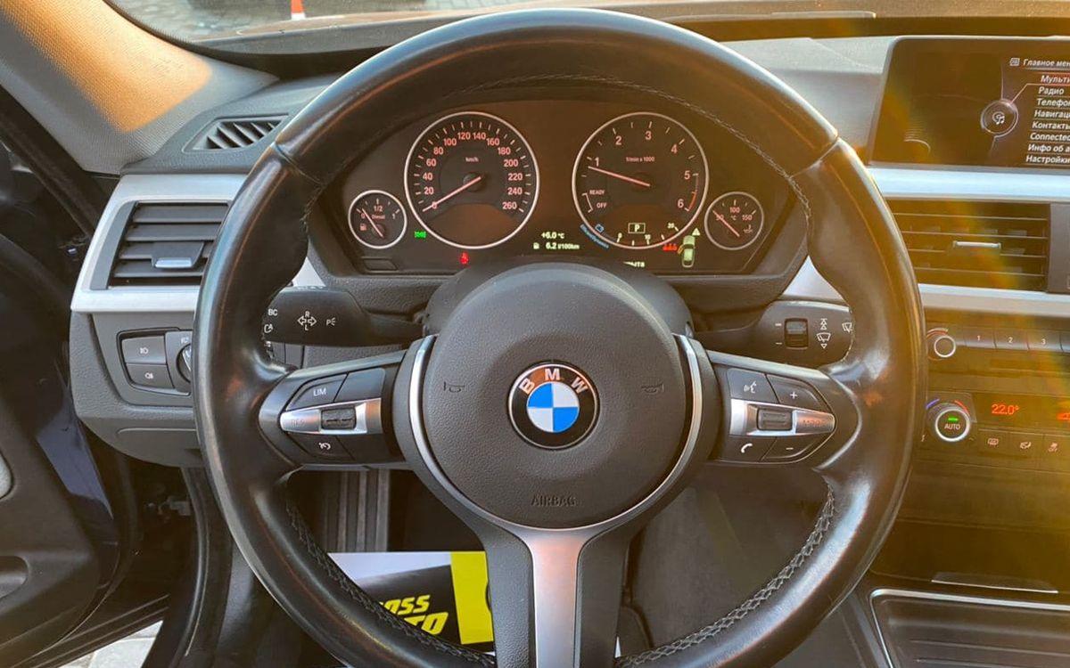 BMW 320 GT 2015 фото №14