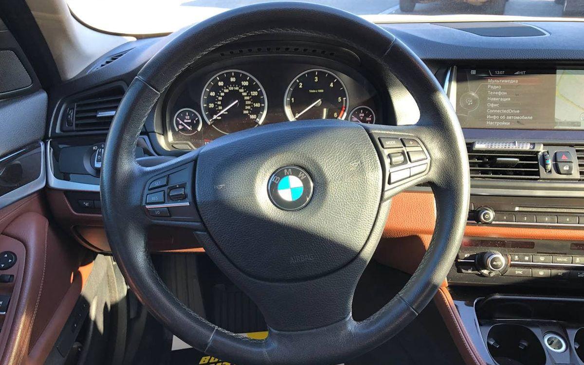 BMW 535 2013 фото №13