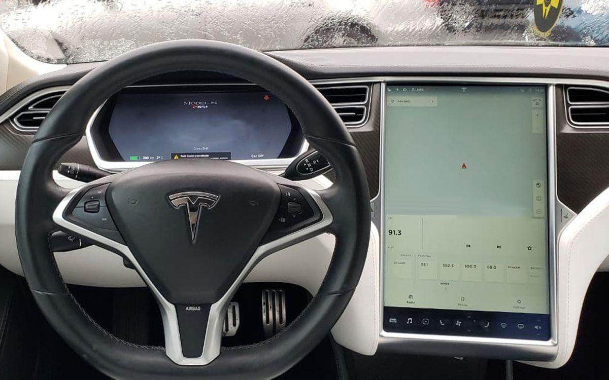 Tesla Model S P85+ 2014 фото №12