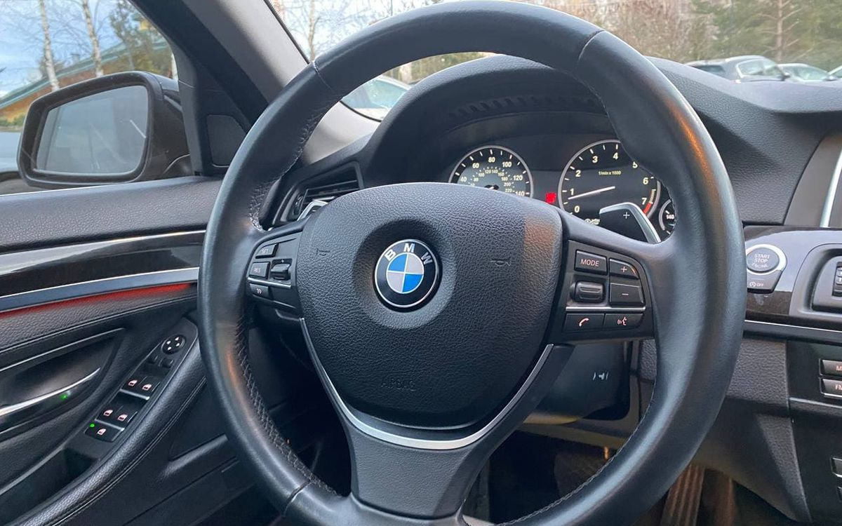 BMW 535 2016 фото №16