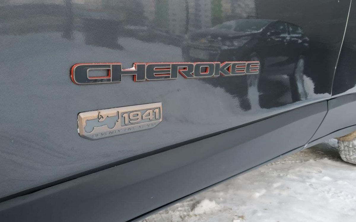 Jeep Cherokee 2016 фото №17