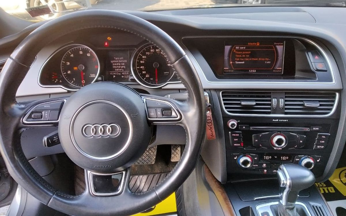 Audi A5 2012 фото №8