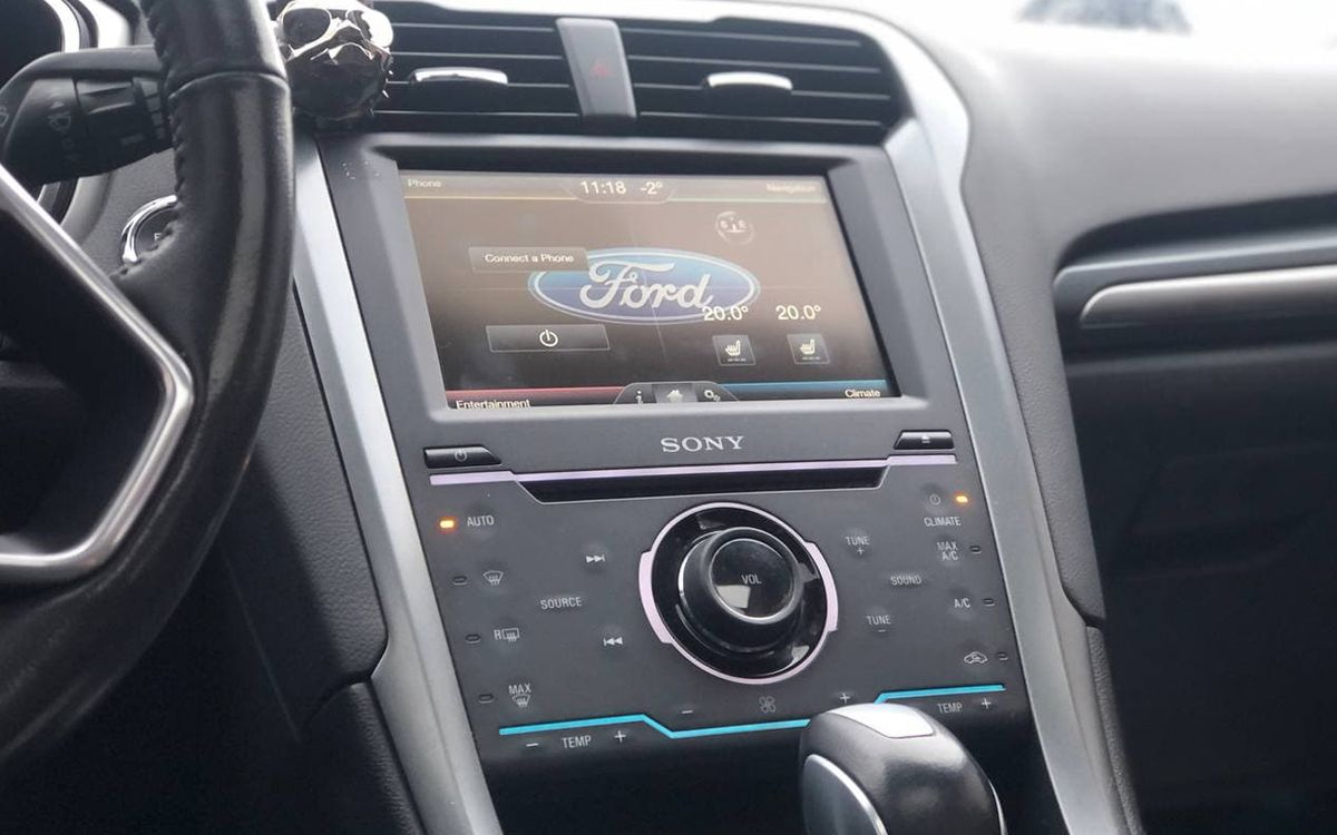 Ford Fusion Titanium 2014 фото №12
