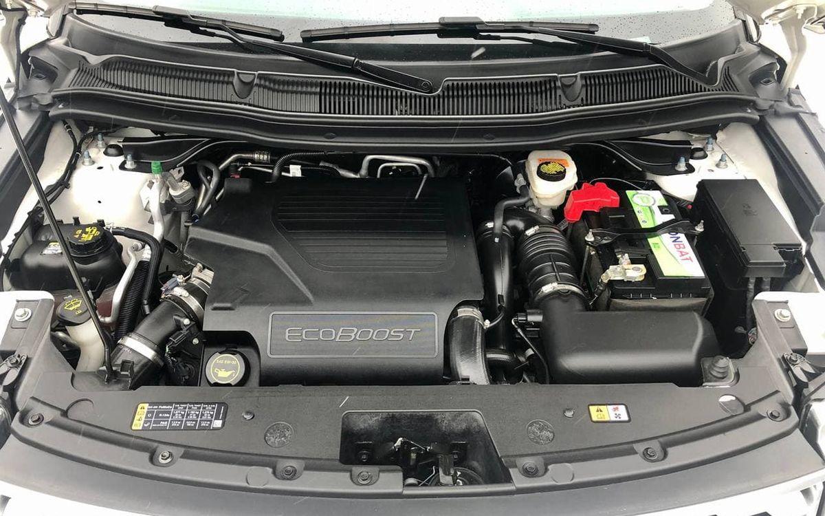 Ford Explorer Platinum 2017 фото №19