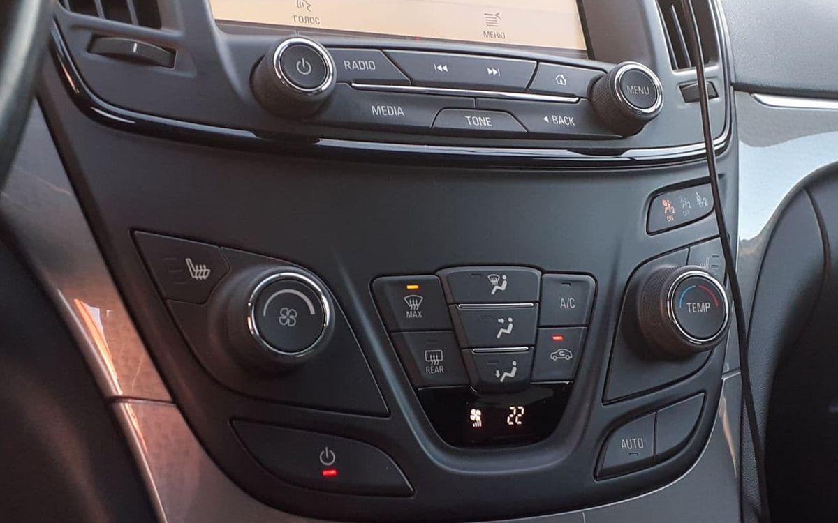 Opel Insignia 2014 фото №14