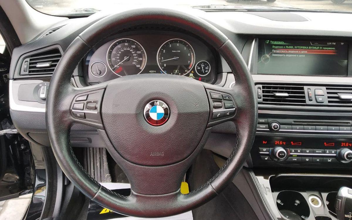 BMW 528 2013 фото №15