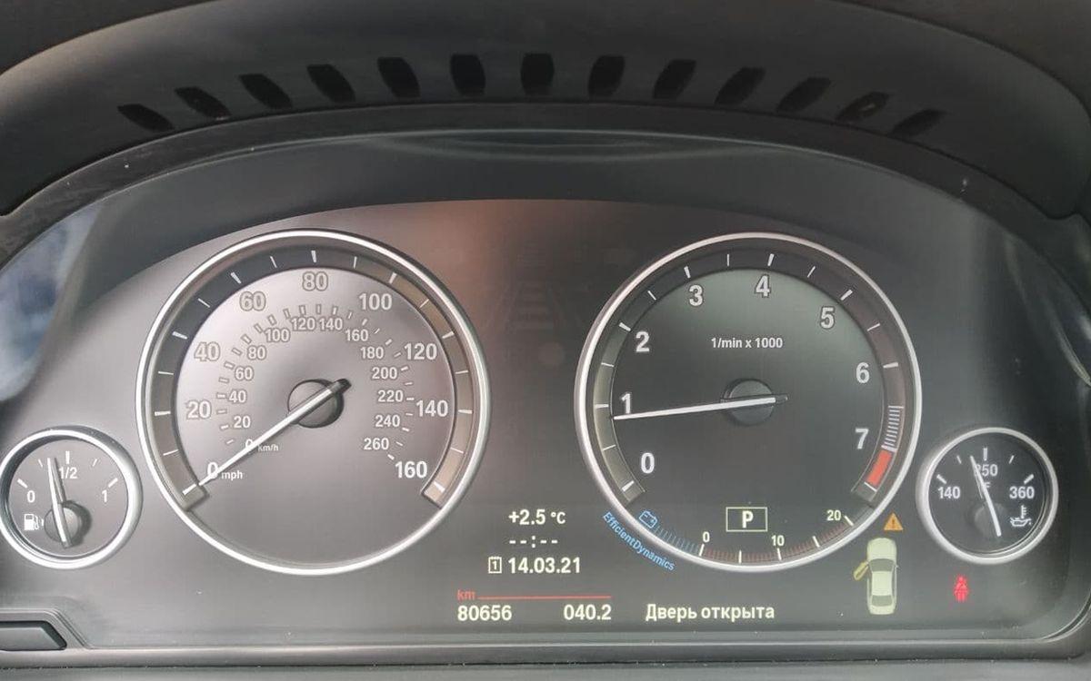 BMW 528 2013 фото №16