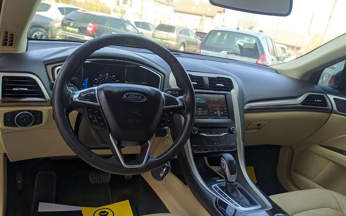 Ford Fusion 2014 фото №16
