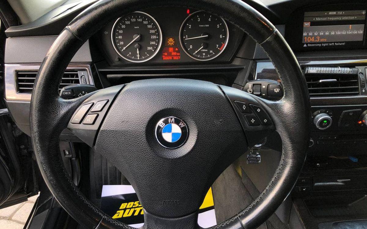 BMW 523 2008 фото №14