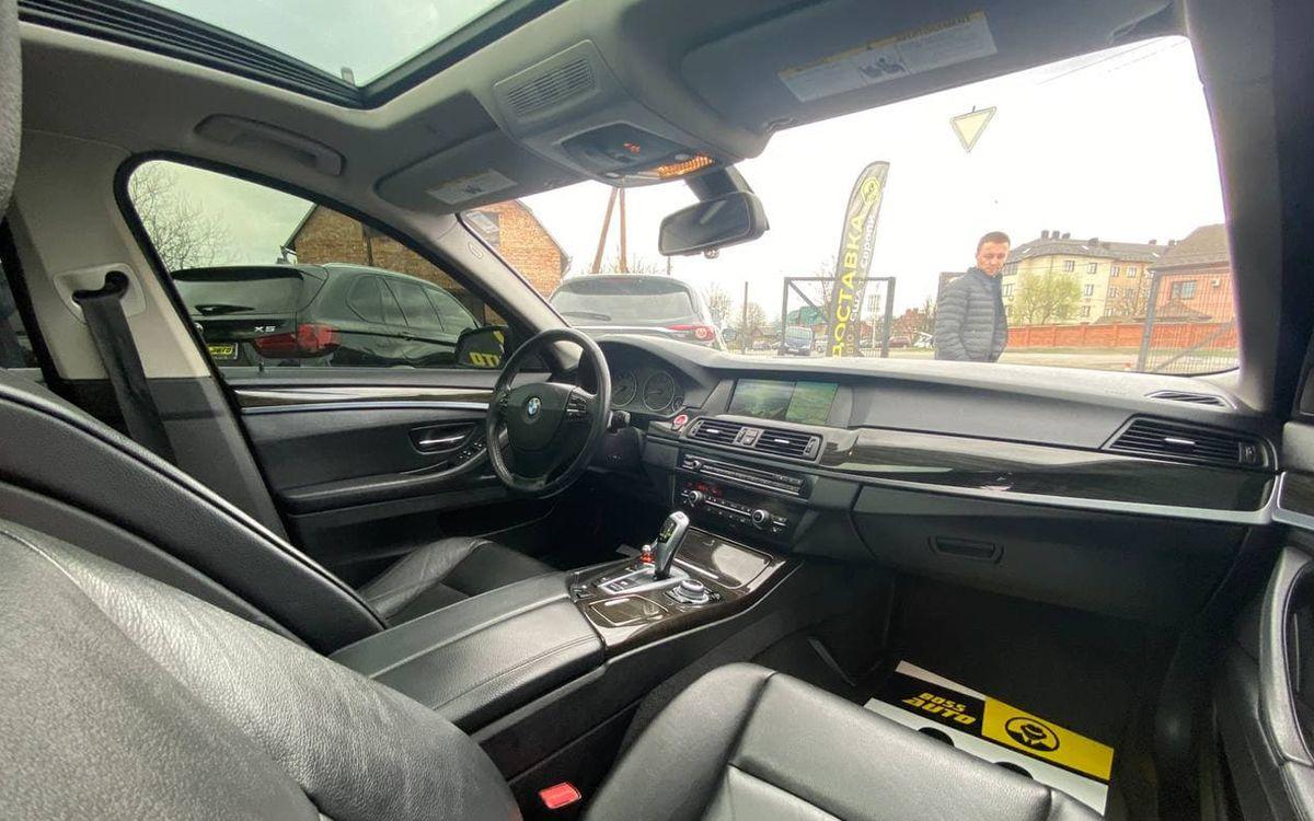 BMW 528 2012 фото №17