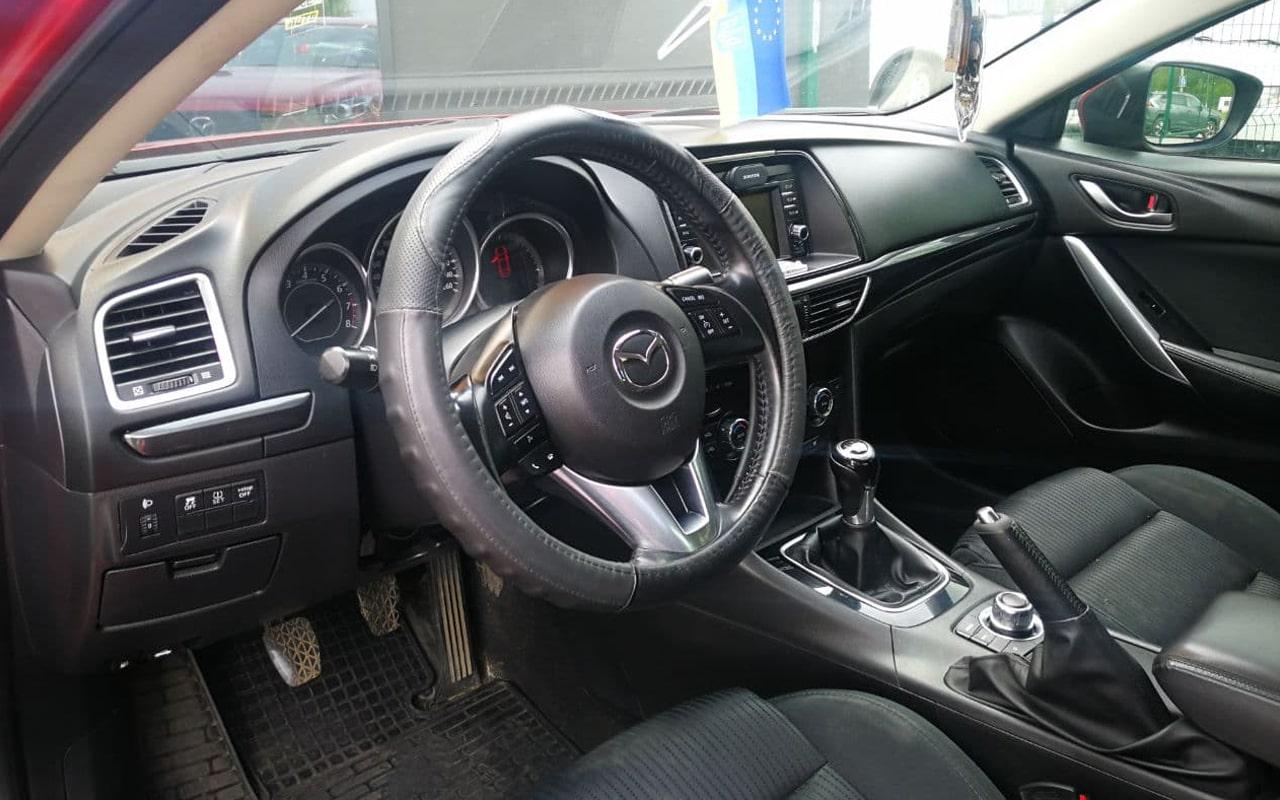 Mazda 6 2014 фото №17