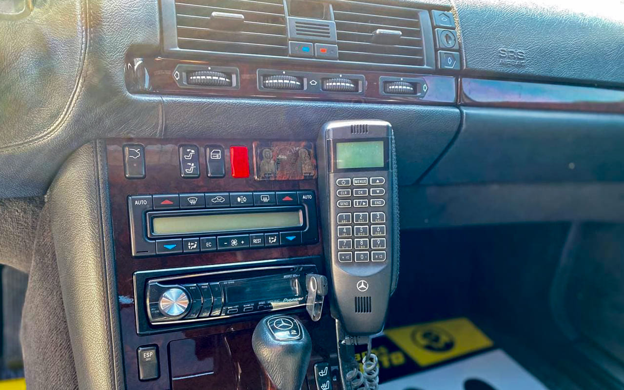 Mercedes-Benz S 600 Ideal Condition 1997 фото №17
