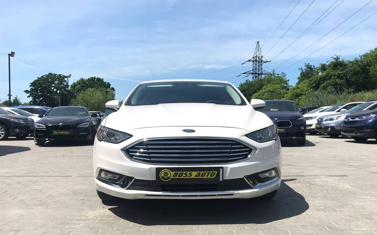 Ford Fusion Se 2017 фото №7