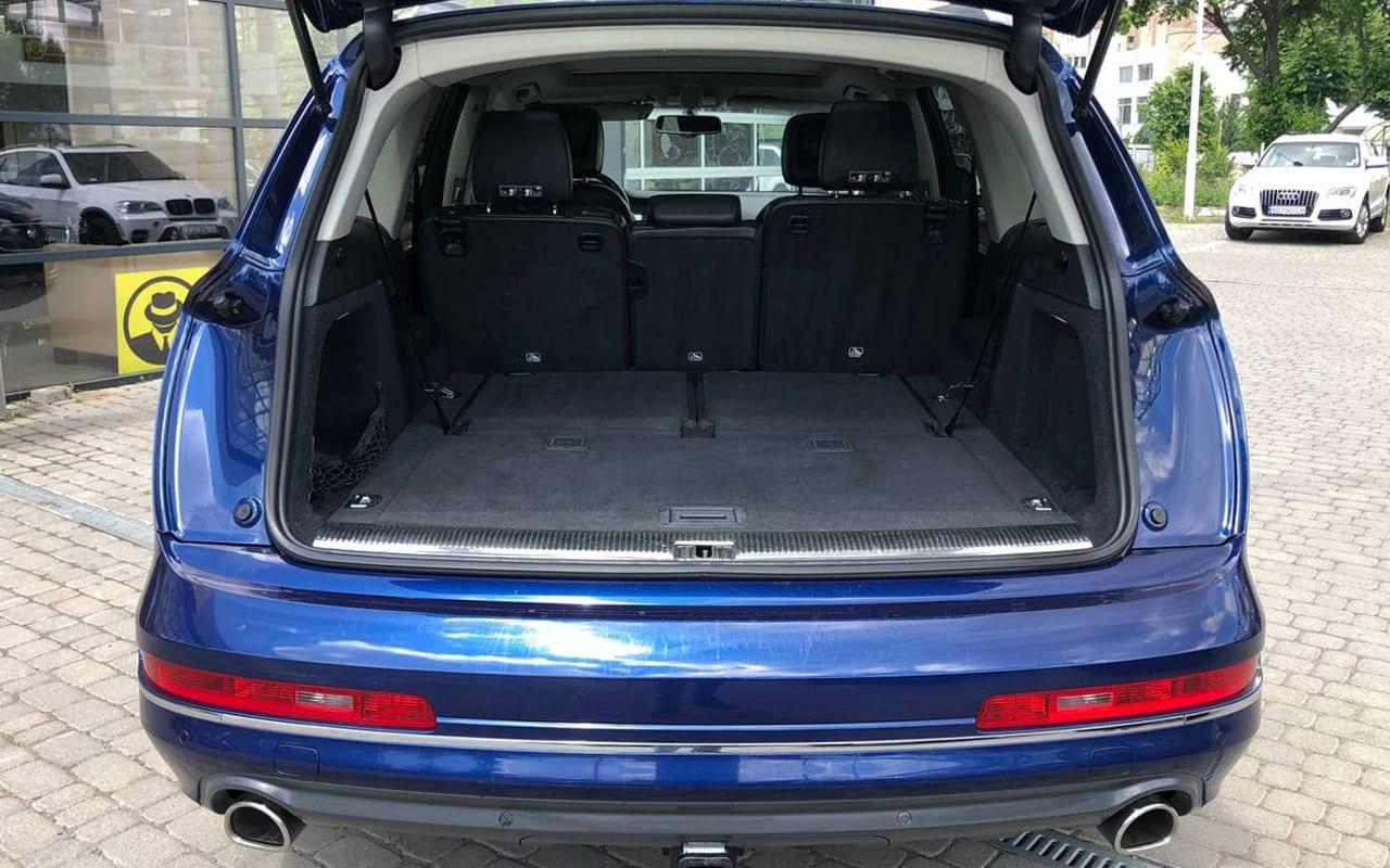Audi Q7 2014 фото №20