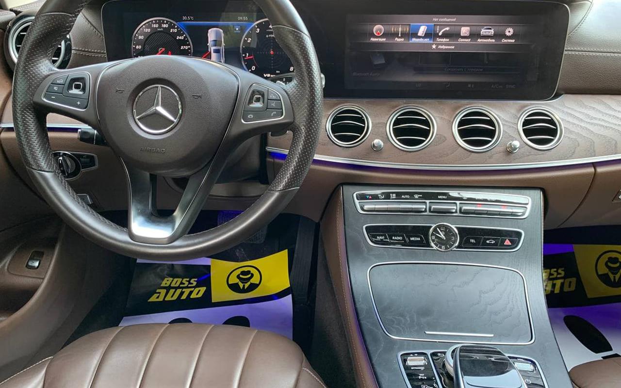 Mercedes-Benz E 220 2016 фото №18