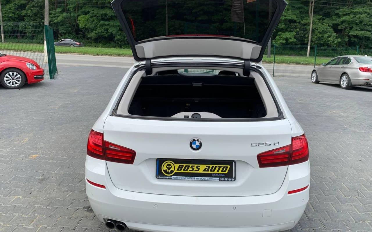 BMW 525 2013 фото №18
