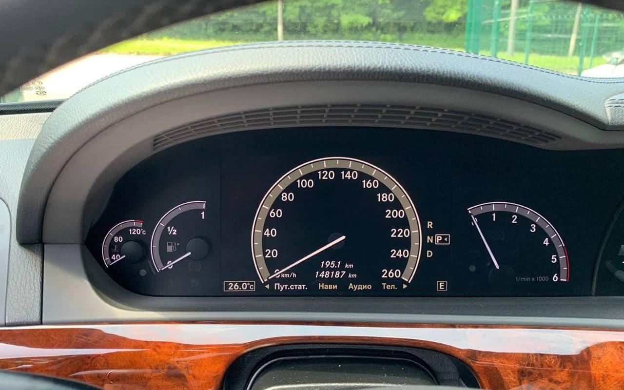 Mercedes-Benz S 350 2012 фото №19