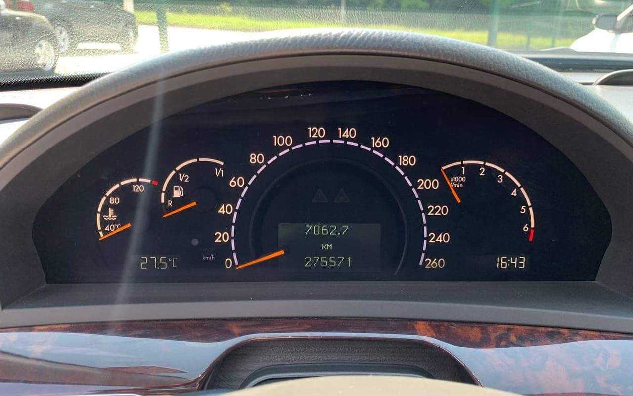Mercedes-Benz S 350 2003 фото №16