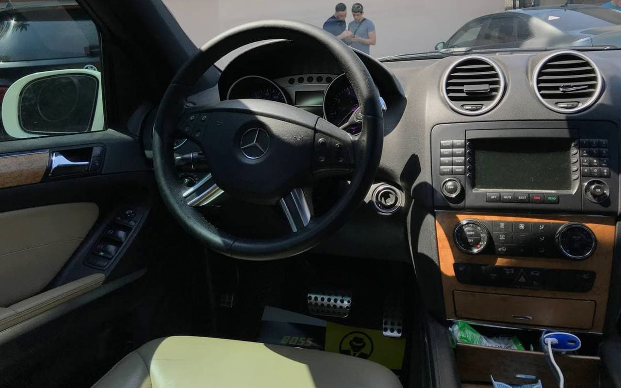 Mercedes-Benz ML 350 2008 фото №14