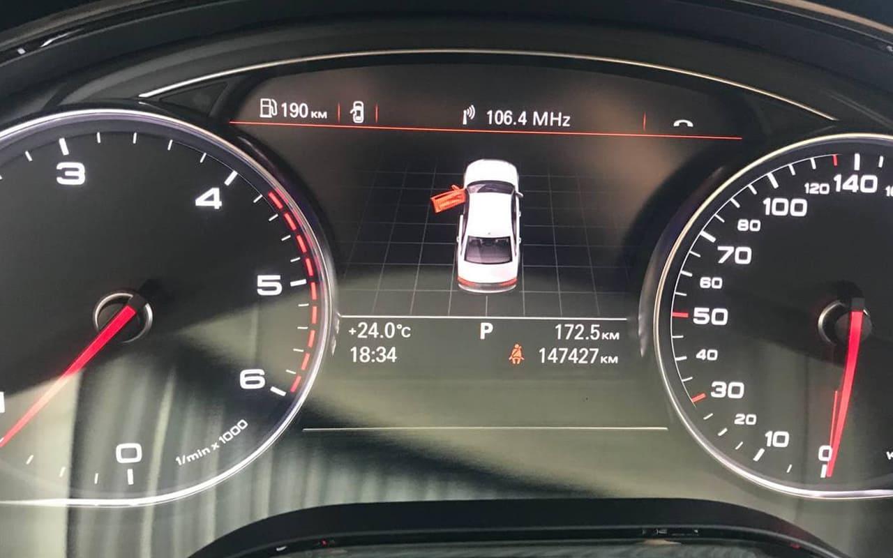 Audi A8 Long 2017 фото №19