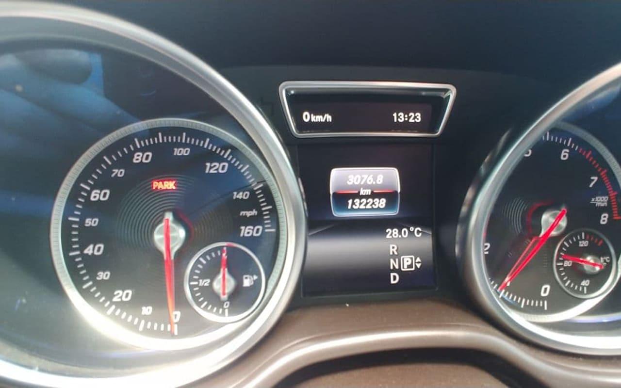 Mercedes-Benz GLE 350 4Matic 2016 фото №13