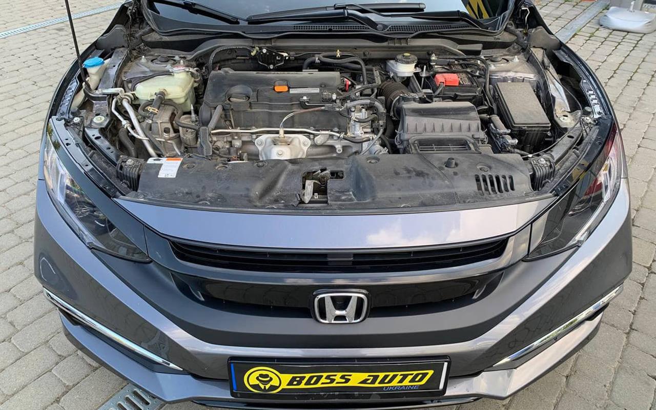 Honda Civic Lx 2019 фото №19