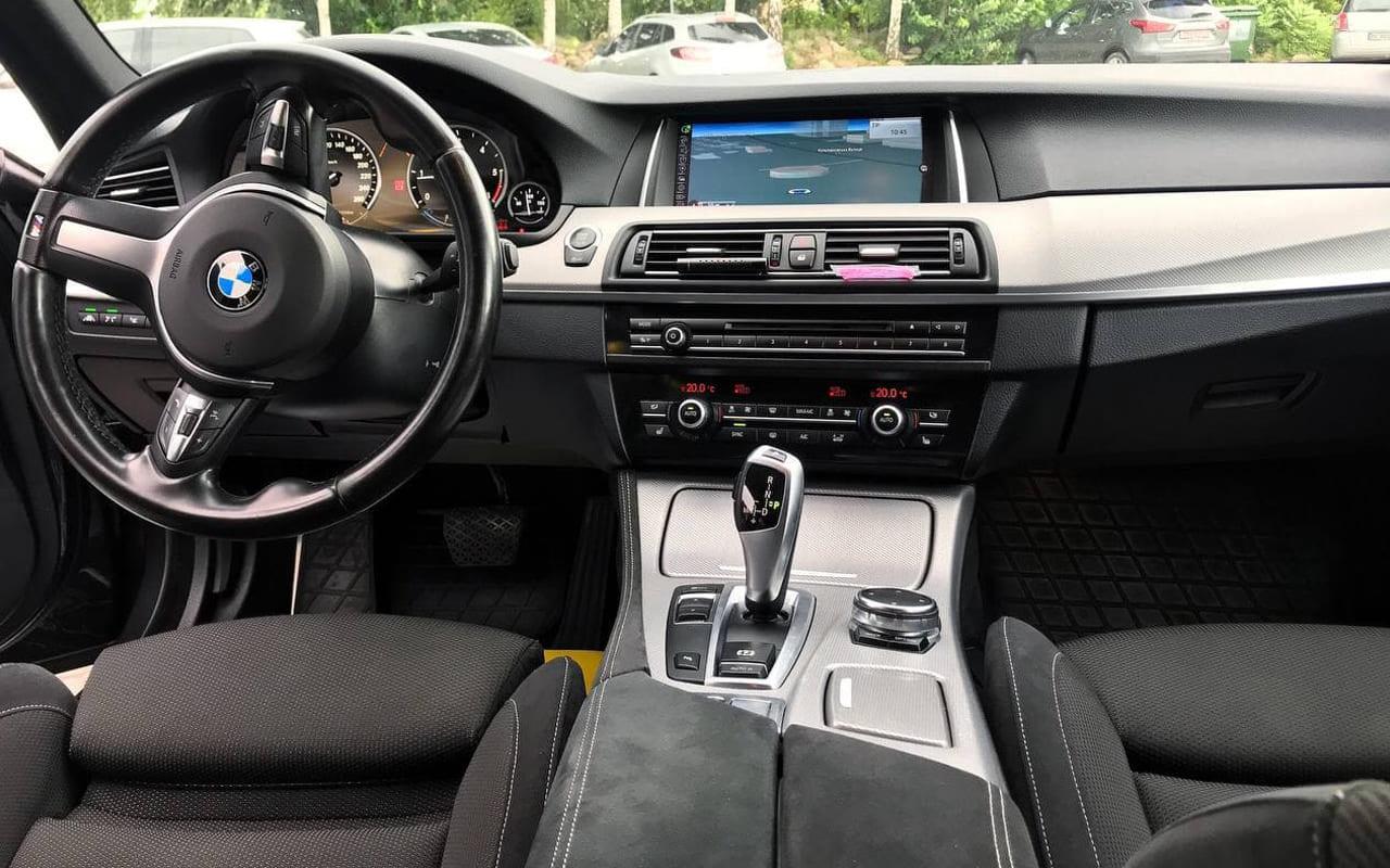 BMW 525 2014 фото №20