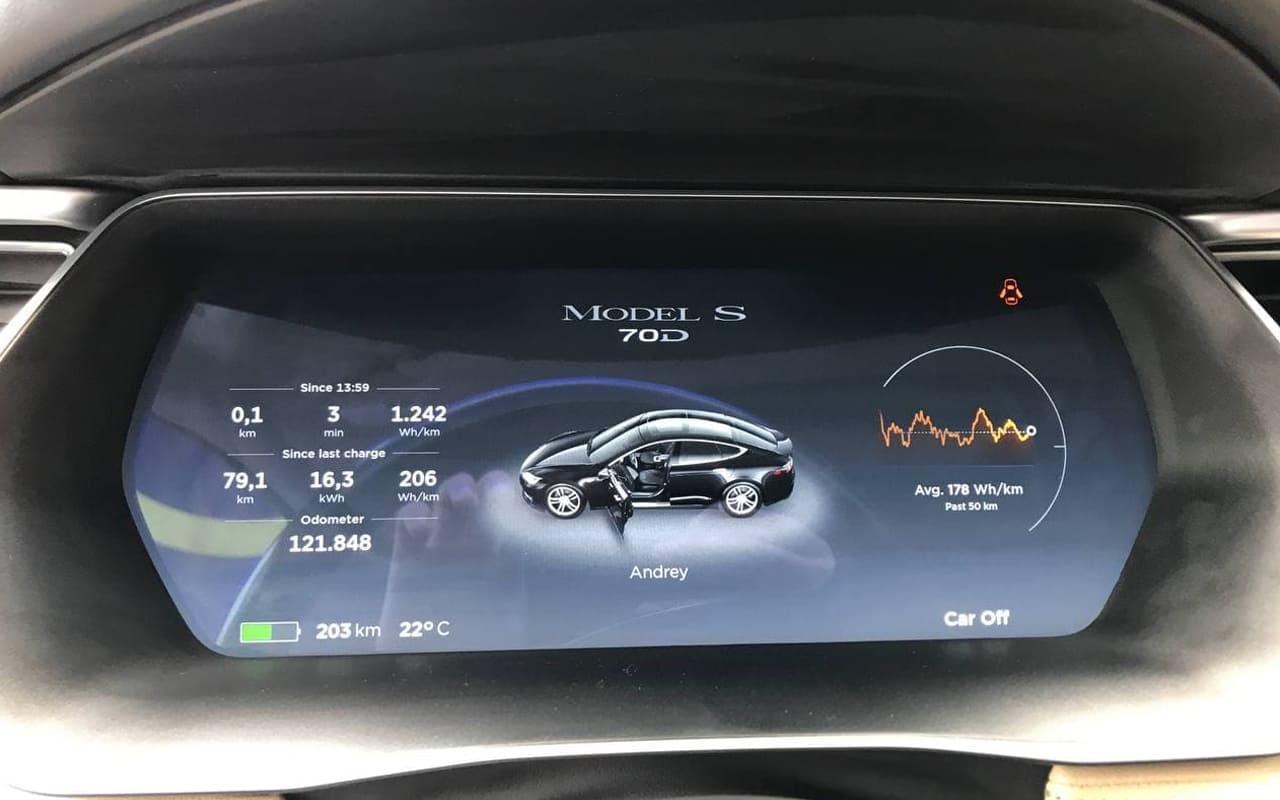Tesla Model S 70D 2015 фото №15
