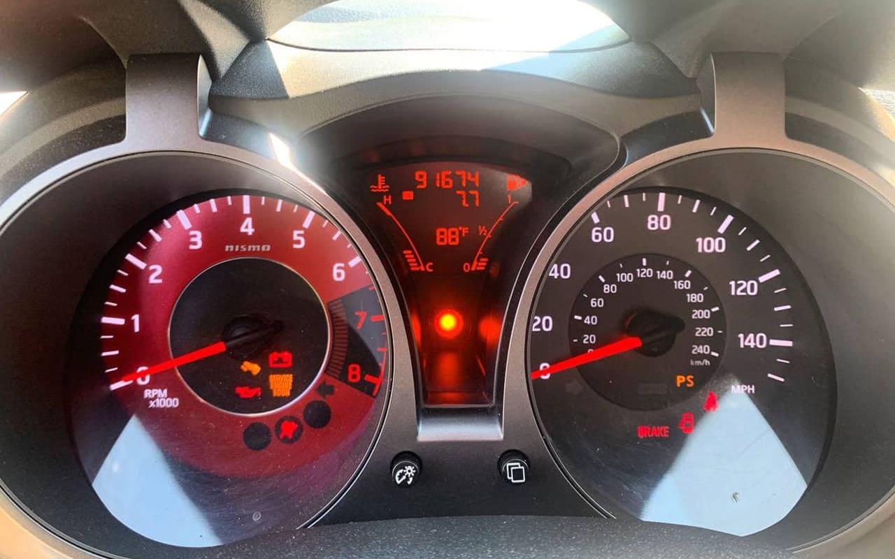 Nissan Juke Nismo 2013 фото №13