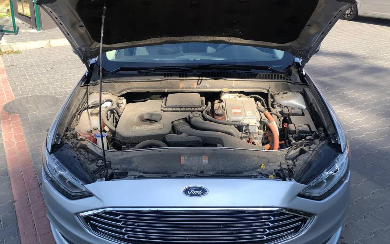 Ford Fusion 2018 фото №17