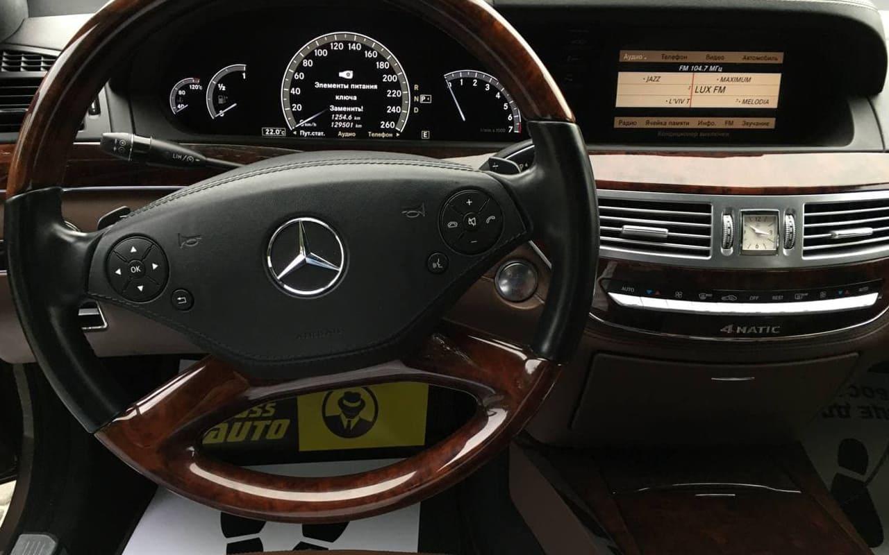 Mercedes-Benz S 500 4Matic 2011 фото №18