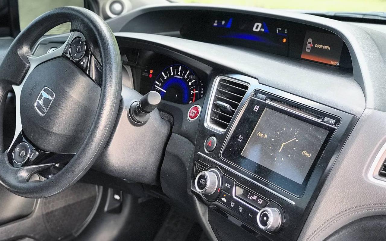 Honda Civic Coupe Ex 2015 фото №13