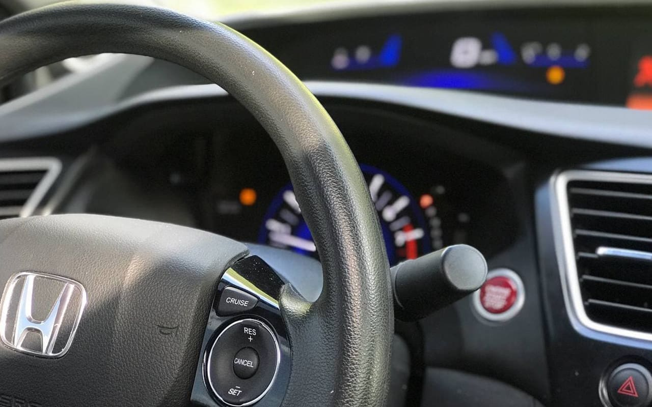 Honda Civic Coupe Ex 2015 фото №15