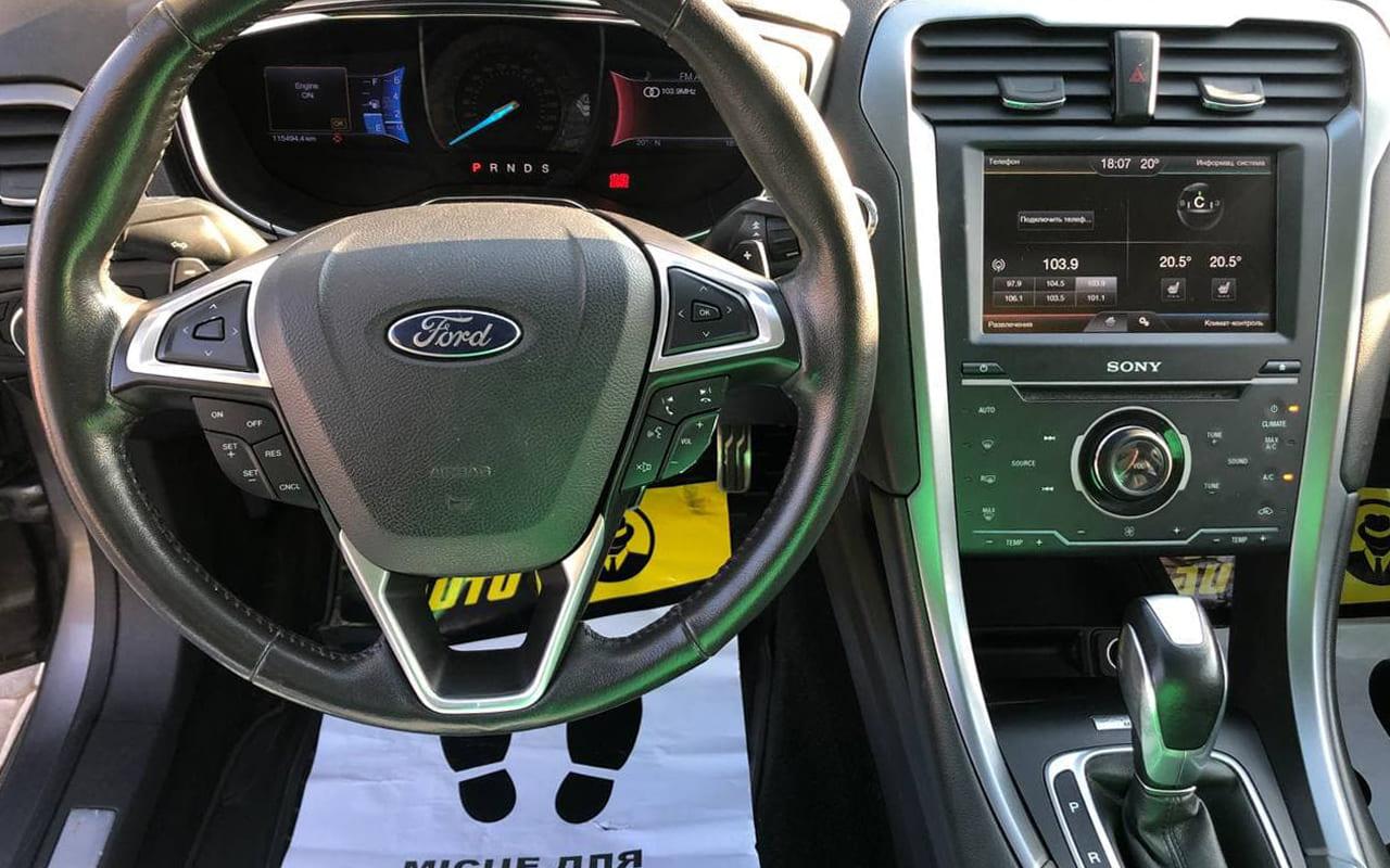 Ford Fusion 2012 фото №16