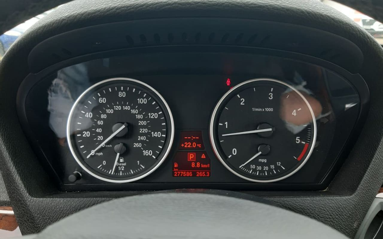 BMW X5 Xdrive35D 2011 фото №11