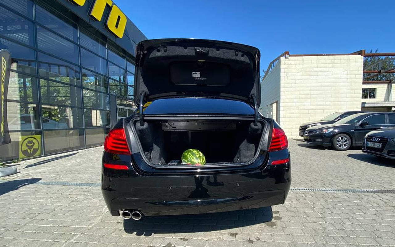 BMW 528 2014 фото №18