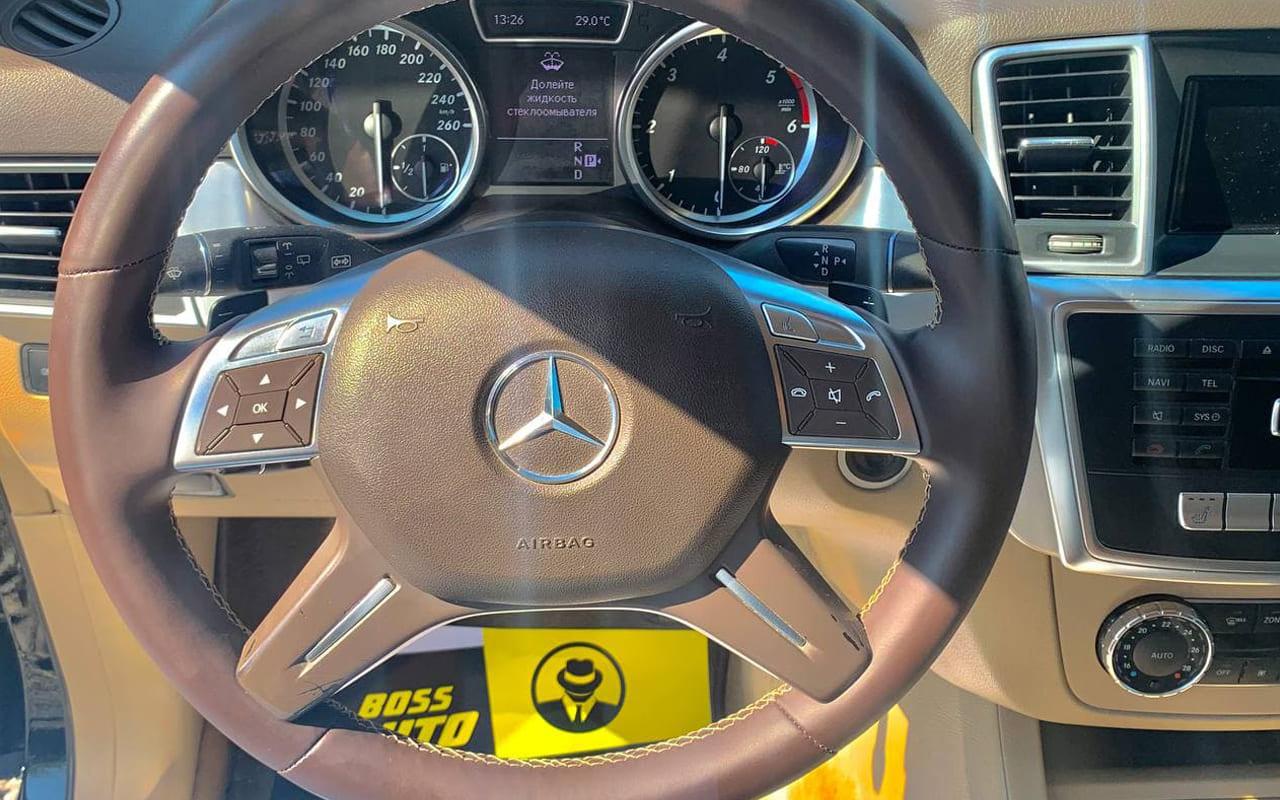 Mercedes-Benz ML 250 2012 фото №14