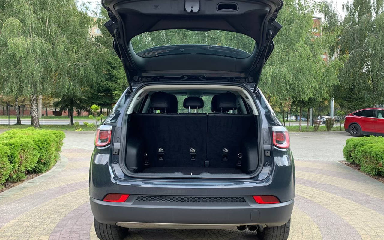 Jeep Compass Limited 2017 фото №19