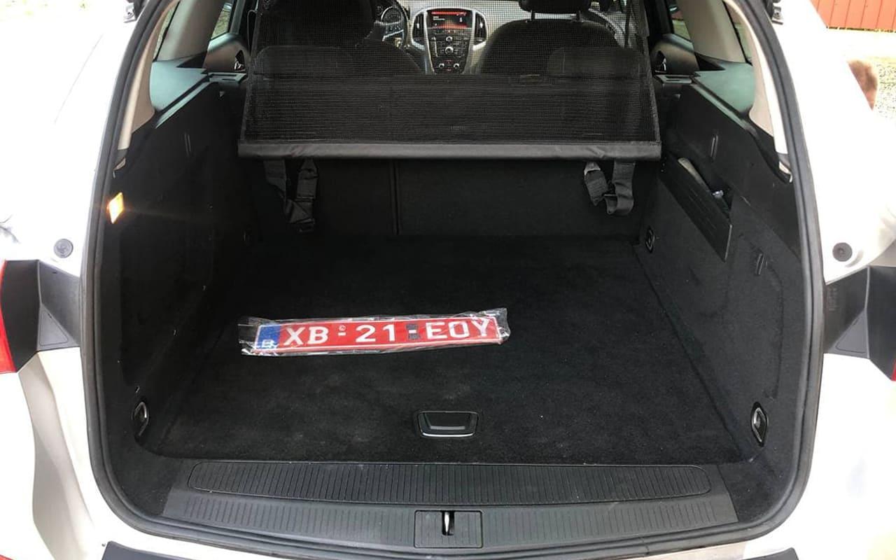 Opel Astra J 2014 фото №20