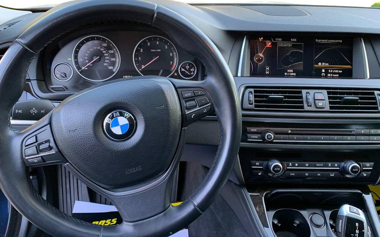 BMW 528 2015 фото №18