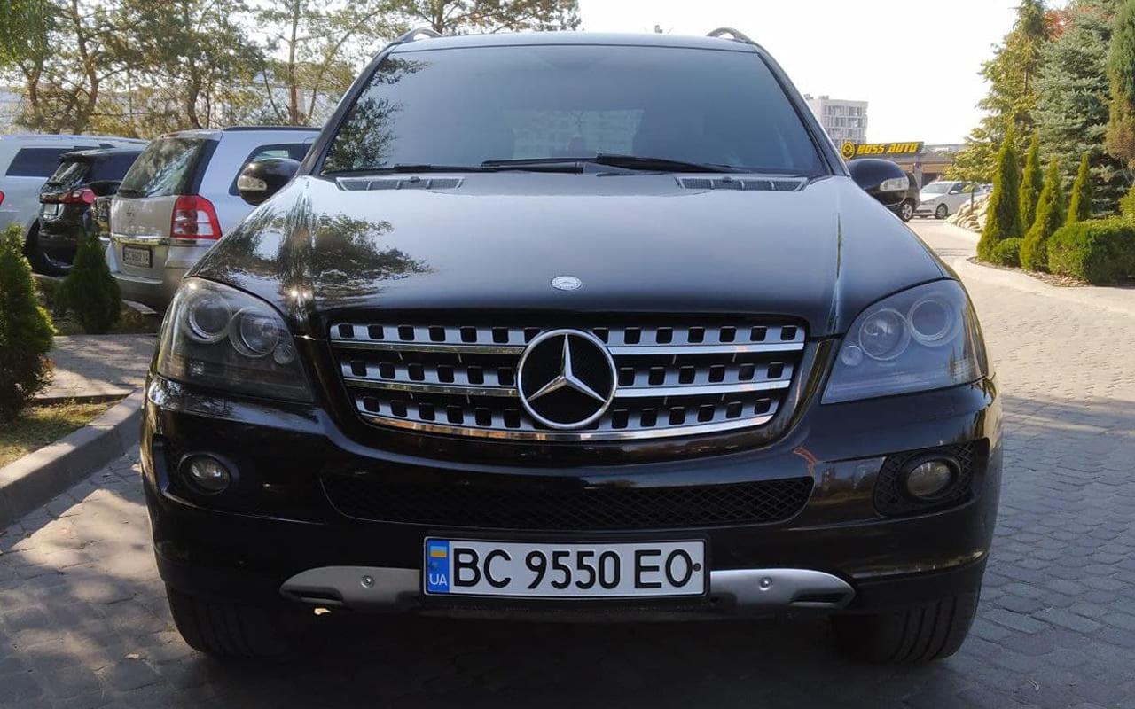Mercedes-Benz ML 350 2008 фото №20